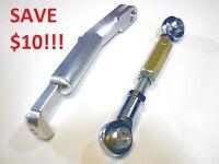 Ducati 1198 Lowering Link Links Kit Adjustable Kickstand Combo 2009 2010 2011