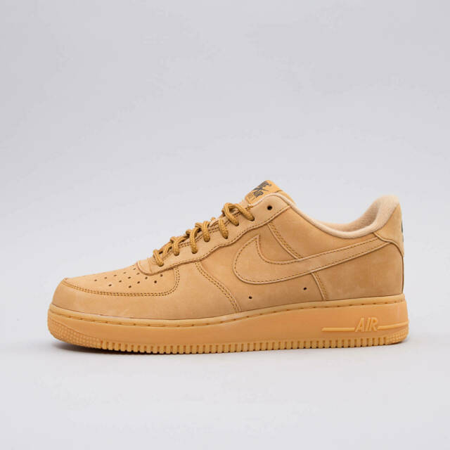Men's 200 Force Nike 15 One Air Low Flax Aa4061 8 Brown 1 Af1 Sz Wheat Suede Nwn0m8