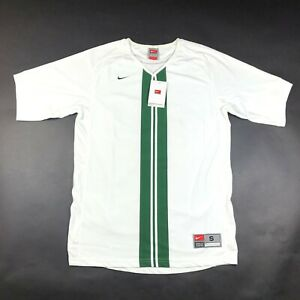 white and green jersey