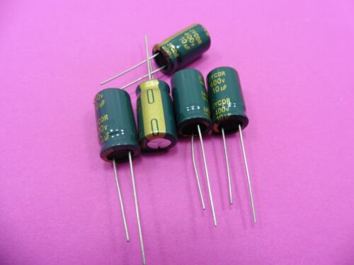 400V 10uF JYCDR Electrolytic Capacitor LOW ESR Genuine High Frequency