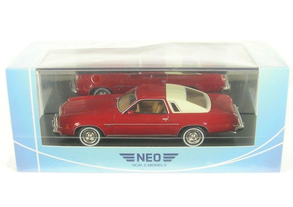Chevrolet Malibu 2-Door (red   Beige Claro ) 1974