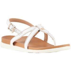 33ac75a21d1 Free postage. Image is loading Vionic-Palm-Veranda-White-Womens -Leather-Slingback-Toe-