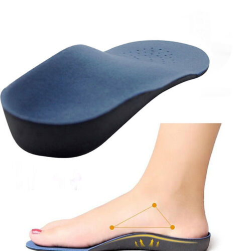 Memory Foam Orthotics Arch Pain Relief Support Shoe Insoles Insert Pads Cushions