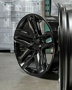 "22"" Chevy Trail Boss Wheels Rims For Tahoe 1500 Silverado ..."