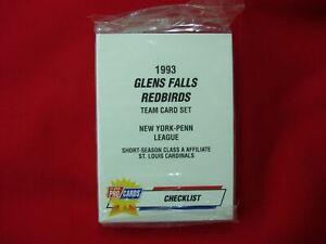 1993-GLENS-FALLS-REDBIRDS-MINOR-LEAGUE-TEAM-SET-FLEER-PROCARDS-FACT-SEALED-NICE