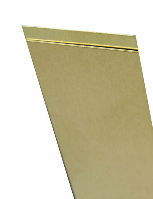 K /& S PRECISION METALS 8229 .093 x 2 x 12 Brass Strip