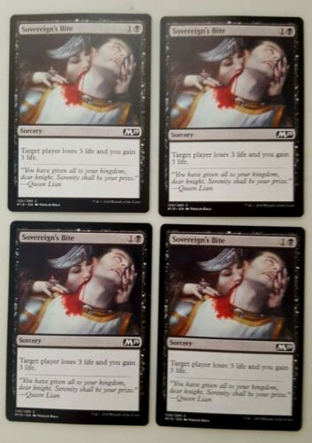 Sovereign/'s Bite M19 MTG Magic The Gathering NM Playset 4x