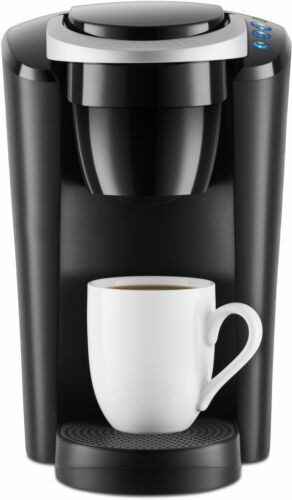 K-Cup Coffee Maker Pod Keurig Compact Single-Serve Slip Brewer Kitchen Black NEW