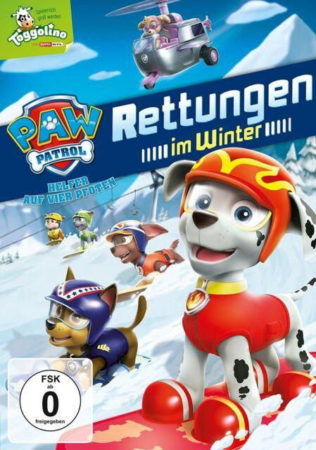 PAW PATROL - RETTUNGEN IM WINTER   DVD NEW