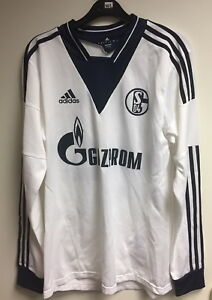 FC-Schalke-04-S04-Spielertrikot-Formotion-Gr-6-Trikot-ohne-Beflockung