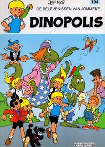 JOMMEKE-194-DINOPOLIS-strip-Jef-Nys-ZO-GOED-ALS-NIEUW