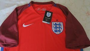 England Away Soccer Jersey 2016 NWT size M