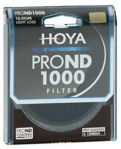 HOYA Pro ND1000 Filter 49, 52, 55, 58, 62, 67, 72, 77, 82mm  10 stops ND