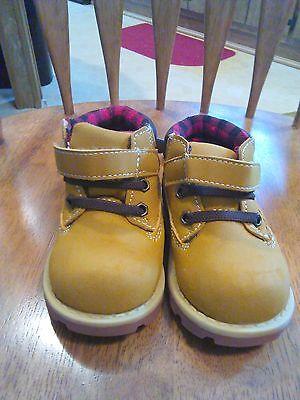 Garanimals Toddler Boys Work Fur Boots Sizes 3 4 6 NWT