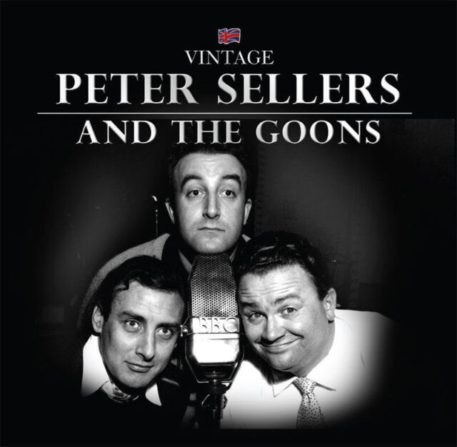 Peter Sellers and The Goons CD Official UK Stock GIFT IDEA British Comedy NEW