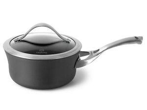 Details about calphalon contemporary nonstick 2 5 qt sauce pan new