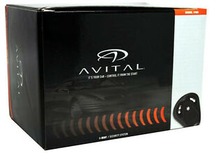 image is loading avital-3100l-1-way-security-system-with-siren-