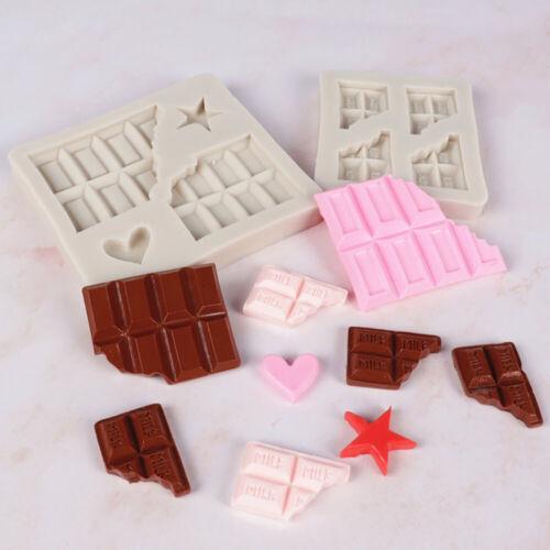 Silicone Fondant Cake Decor Mould Heart Chocolate Valentine/'s Day Baking Molds