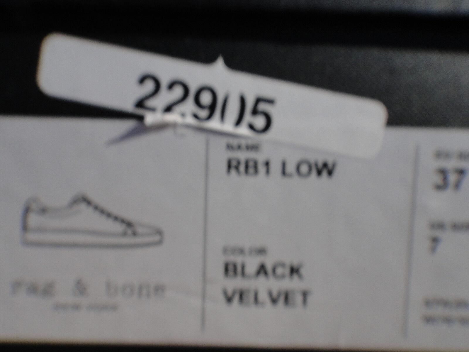 Rag & & & Bone RB1 Velvet Platform Turnschuhe Wmn's Sz US 7M, MSRP  325 802771
