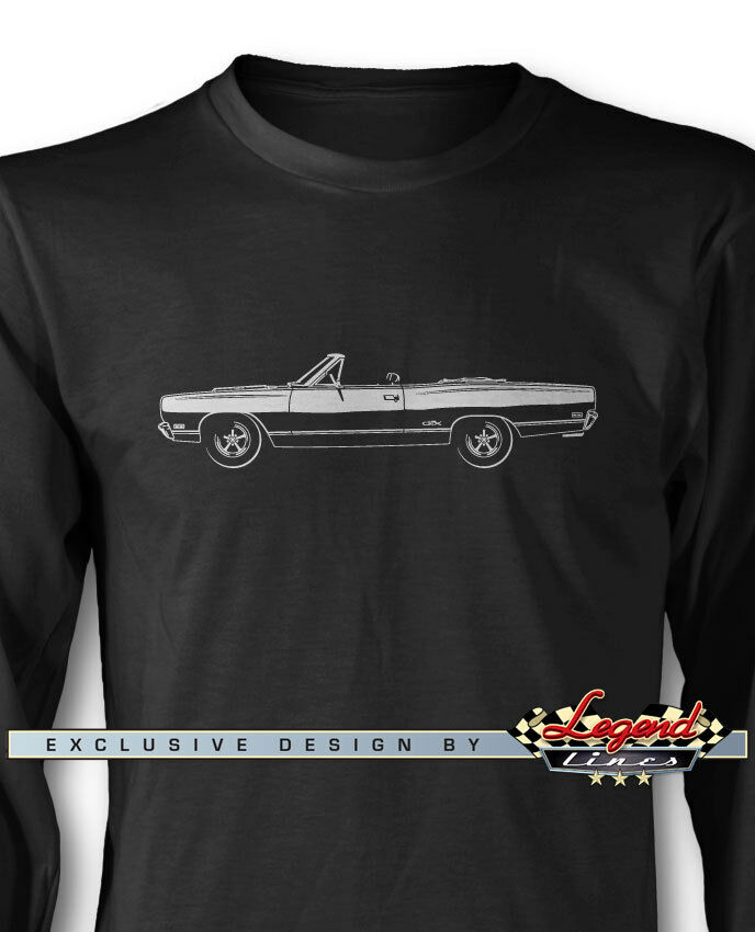 1969 Plymouth GTX Congreenible Long Sleeves T-Shirt - Multiple colors & Sizes