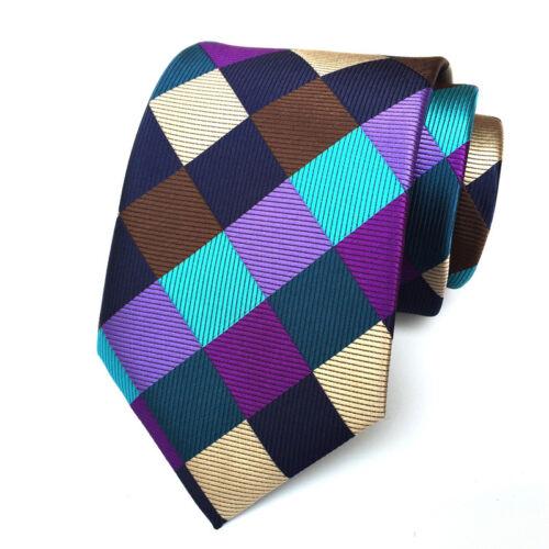 25 Color Floral Men/'s Silk Tie Necktie Neck Ties Pocket Square Handkerchief Set