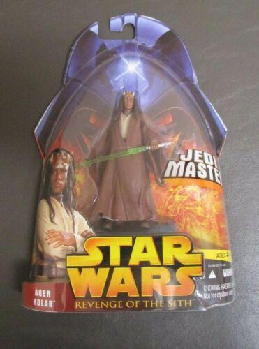 AGEN KOLAR Jedi Master 2005 Star Wars Revenge of the Sith revenge of the Sith Comme neuf on Card #20
