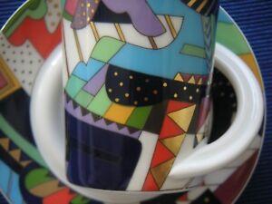 Cupola Espressotasse Sammeltasse Nr 1 Rosenthal Brenner neuwertig 2 B