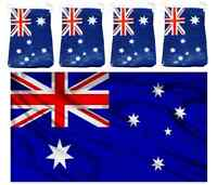 5ft x 3ft AUSTRALIAN FLAG PLUS 48FT OF AUSSIE BUNTING DECORATION PARTY PACK