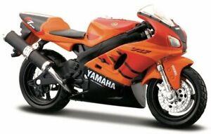 YAMAHA YZF-R7 - orange / red - Maisto 1:18