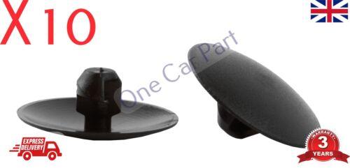 10x VAUXHALL Zafira B BONNET SOUNDPROOFING CLIPS BONNET INSULATION CLIPS