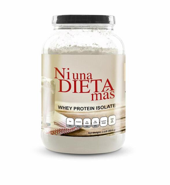 Ni Una Dieta Mas Whey Protein Isolate Delicious Vanilla No Sugar Or Lactose For Sale Online Ebay