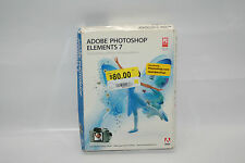 New Sealed Genuine Adobe Photoshop Elements 7 Photo Editing Software XP Vista