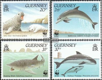Guernsey 497-500 Fine Used / Cancelled 1990 C Relieving Rheumatism Honest United Kingdom complete.issue.