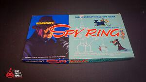 Spy Ring 1965 Vintage Board Game Waddingtons VGC FAST