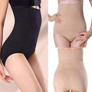 a0f4cf6d03 Image is loading Women-Seamless-Knickers-High-Waist-Shapewear-Slimming-Body-