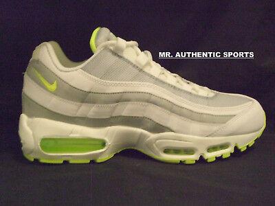 NIKE AIR MAX 95 PREMIUM Size 10 NEON WHITE(609048 138)plus tn 1 90 97 vapormax | eBay