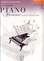 Accéléré Piano Adventures Leçon Book Level 2-afficher Le Titre D'origine Une Grande VariéTé De ModèLes