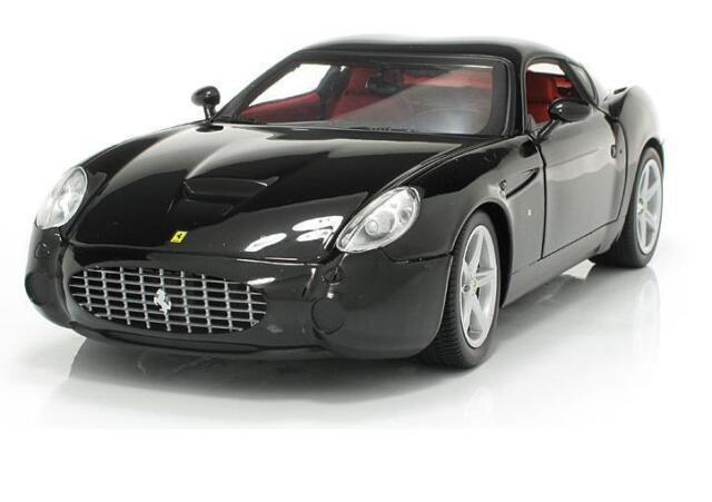 118 Hot Wheels Ferrari 575 Gtz Zagato Diecast Model Car Black P9888