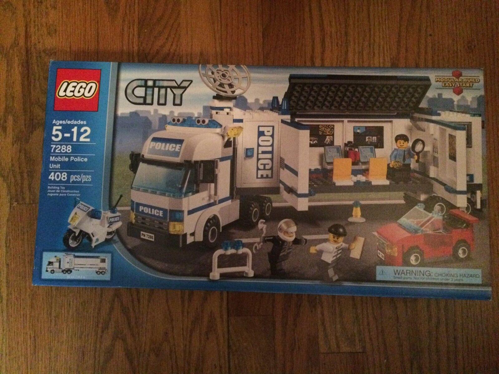 LEGO 7288  Mobile unité de police de ville Série NEUF dans boîte scellée  promotions promotionnelles