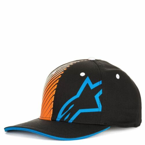 Alpinestars Corp Shift 2 Flexfit Hat Basebal Casual Cap Hat Black White Blue