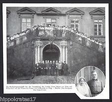 ADEL, 1916, Graf Franz Anton von Thun Hohenstein, Prinzessin Fanny von Lobkowitz