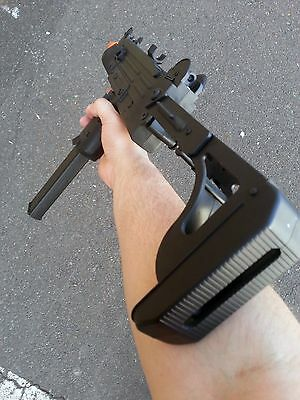 Airsoft Full Auto Electric Rifle UZI AEG Battery + Charger 1000 BBS
