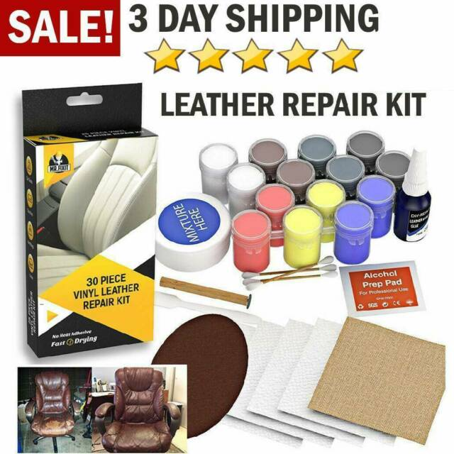 DIY Leather Vinyl Repair Kit Scratch Auto Car Seat Sofa ...