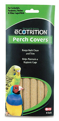 Wild Harvest P-84141 Sanded Perch Covers for Small Birds 6-Count