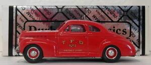 Durham Échelle 1/43 Dur 32 - 1941 Chevrolet Coupe Toronto Chef des pompiers