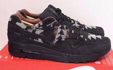 New Nike Men's Air Max 1 Pendleton PND QS X Black/Brown 825861-004 Sz 10 Running