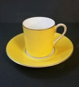 Rosenthal-selb-germany-Demitasse-Cup-And-saucer-yellow
