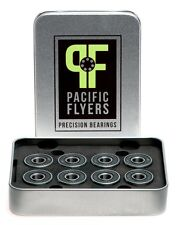 Pacific Flyers Premium ABEC 9 Skateboard Bearings / Set of 8