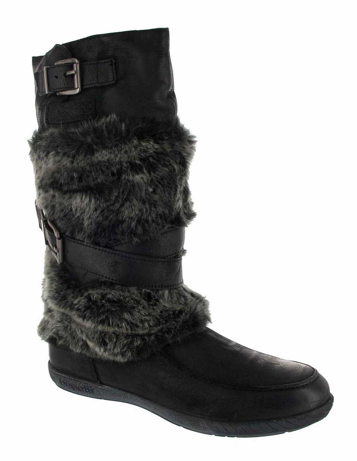 BUGATTI Ines Stiefel - Ines BUGATTI Nappa/Textil TF J1425-16, schwarz cb60cd