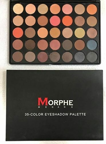 NEW PROFESSIONAL 35 COLOR MORPHE BRUSHES 35O EYESHADOW PALETTE NATURE GLOW KIT